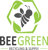 Bee Green Recycling & Supply Business Logo