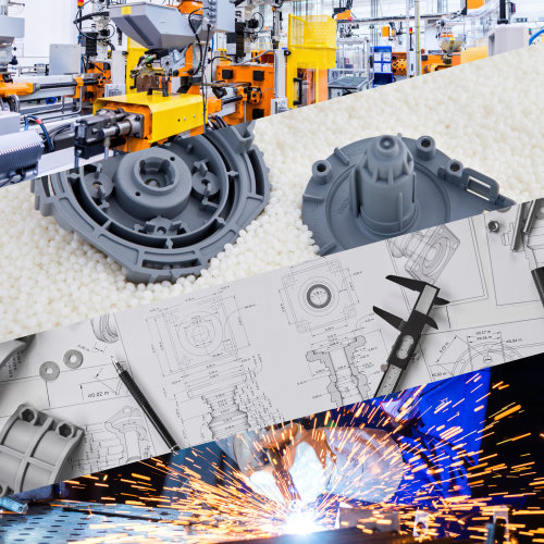 A compilation of design and manufacturing activities.