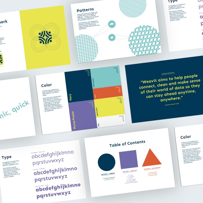 From 'Weavernest' to 'Weavit': Building a playful brand for professionals.