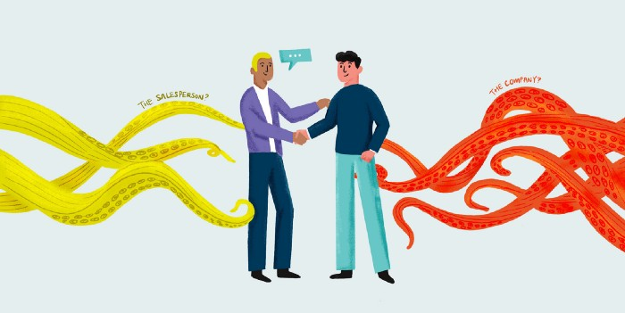 Company or Sales: Who Should Really Own the Client Relationship?
