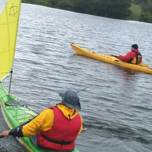 Extensive range of kayaks to try out.