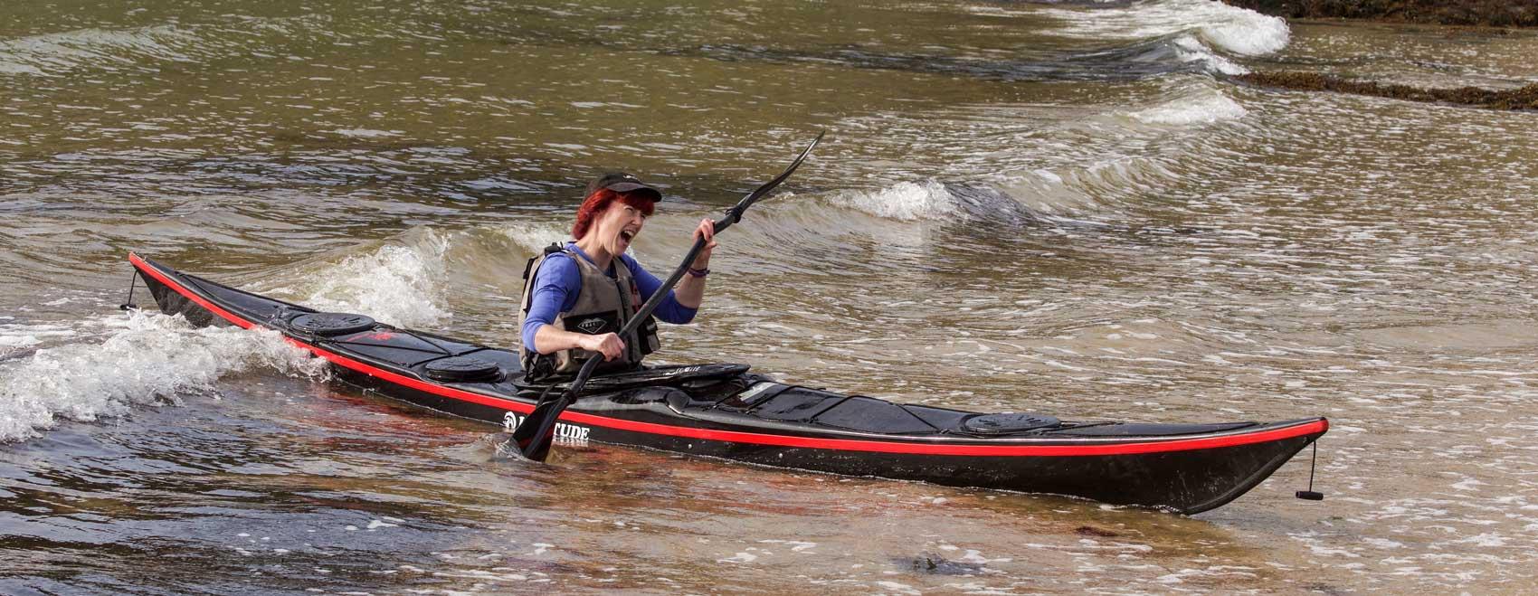 Karitek for sea kayaks by Nigel Dennis SKUK and Rockpool