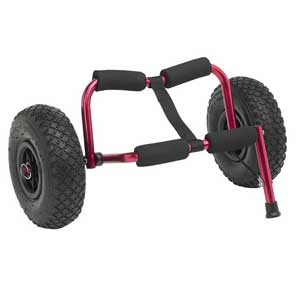 Kayak and canoe transportation accessories and trolley