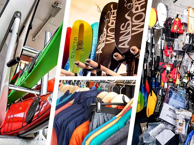 Argyll Kayaks Ardrishaig shop