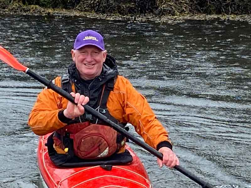 Kayak coaching and guiding with Argyll Kayaks