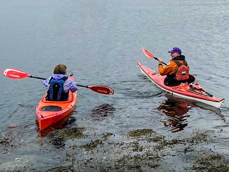 Try a boat with Argyll Kayaks