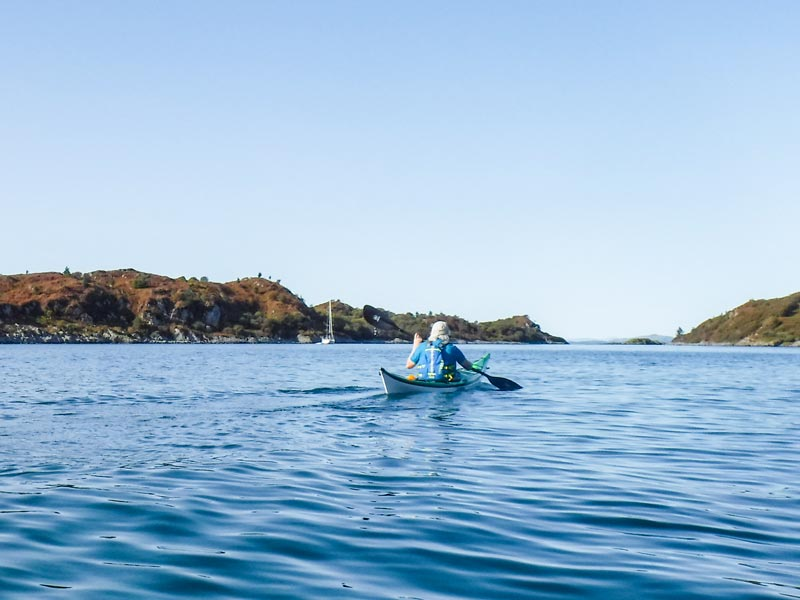 Day & weekend boat hire with Argyll Kayaks