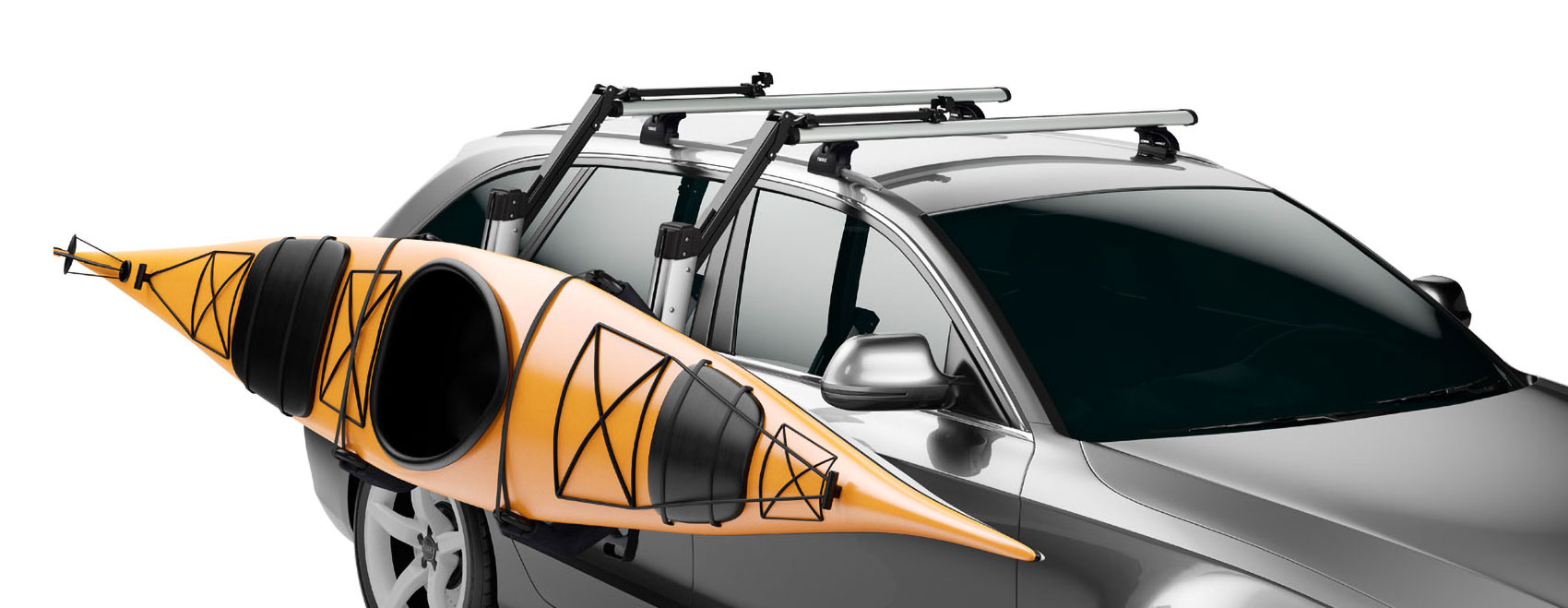 Karitek's Easy Load Roof Rack - transforms loading kayaks and canoes onto cars and vans