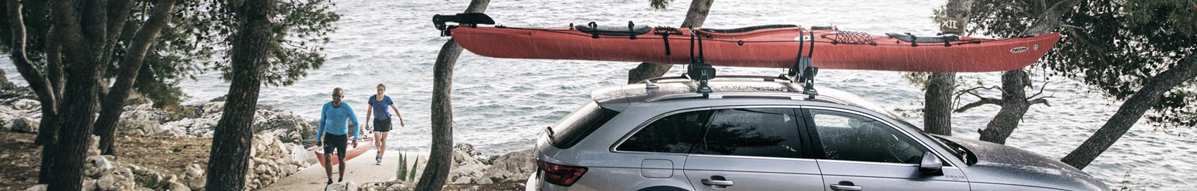 A range of versatile, easy to use roof bars, roof racks, cradles and accessories to help transport your watersport's equipment