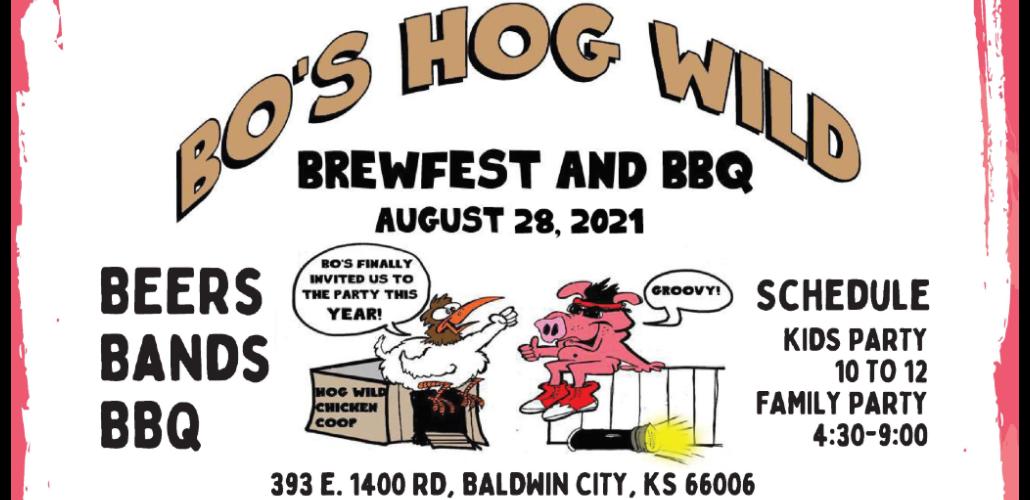 Bo's Hog Wild Brew Fest & BBQ will benefit CASA