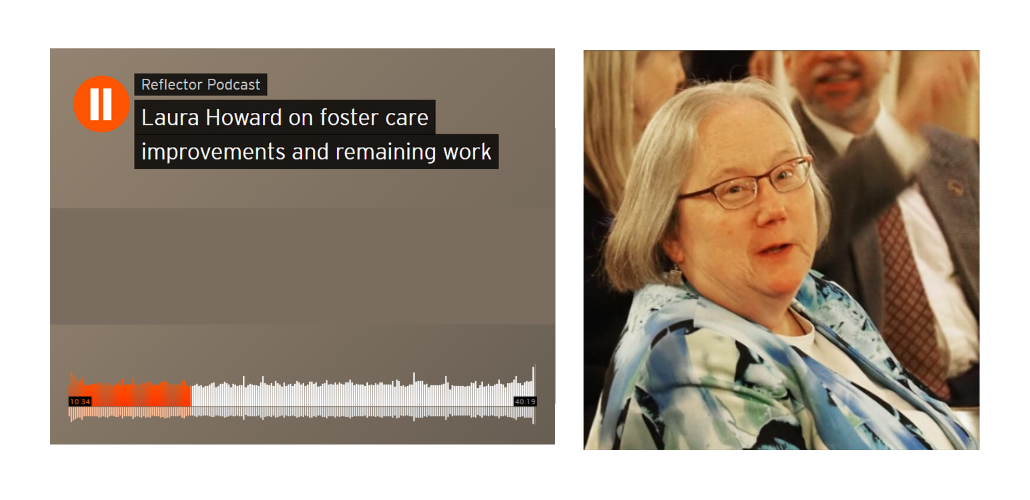 Secretary Howard Interviewed on State and Future of Foster Care