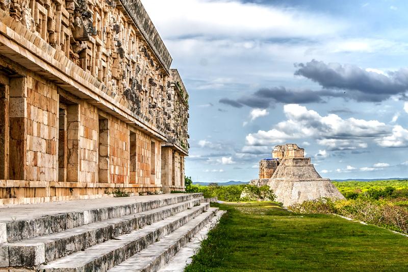 Ruines Uxmal au Yucatan