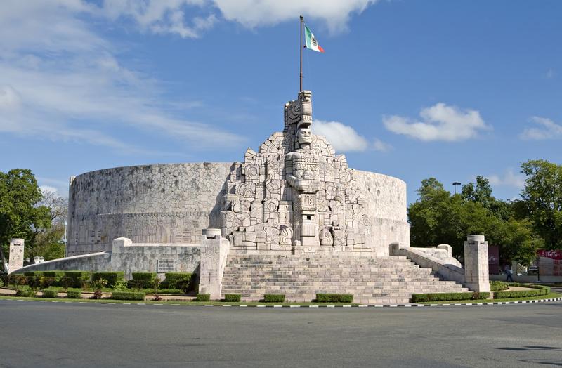 Le monumento a la Patria à faire lors de votre voyage à Merida au Méxique