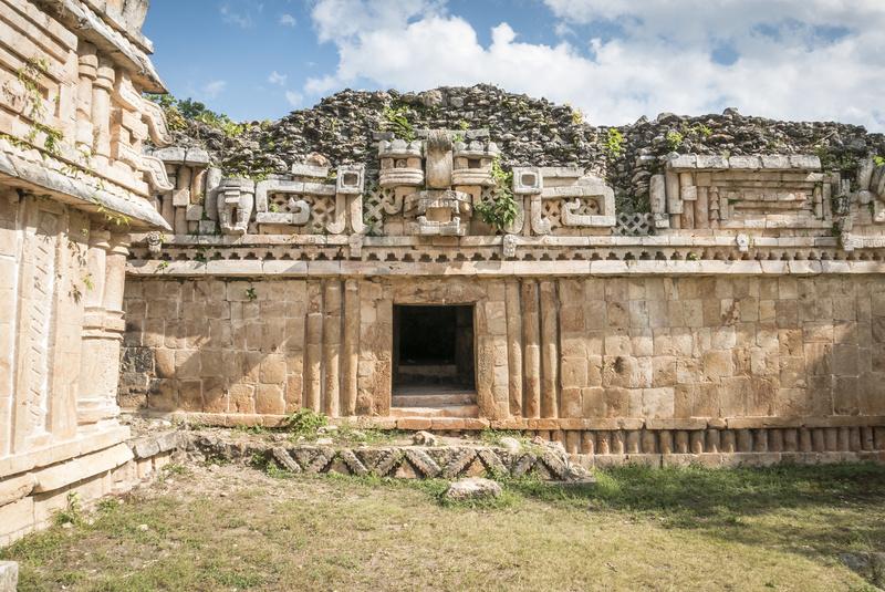 Ruines Maya à Ruta Puuc, Yucatan
