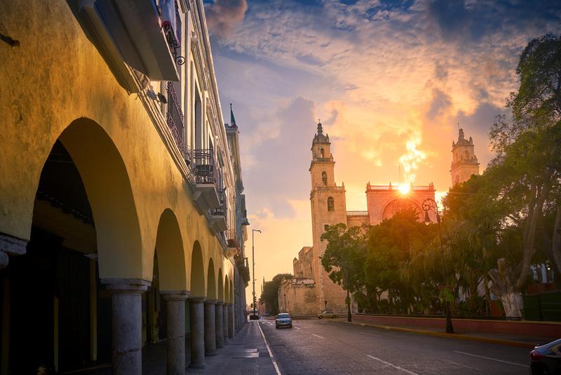 Cathédrale de Mérida, Yucatan