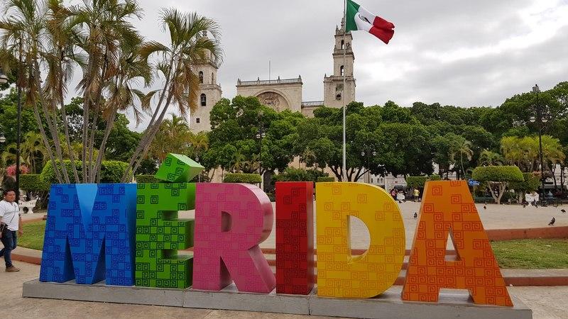 Visite de Mérida et sa cathédrale lors de notre Road trip Yucatan de 2 semaines