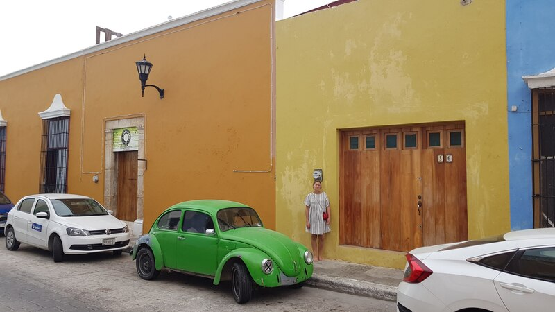 Photo à Campeche lors de notre Road trip au Yucatan de 2 semaines