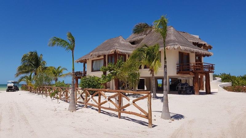 Une belle maison à Holbox dans le Yucatan