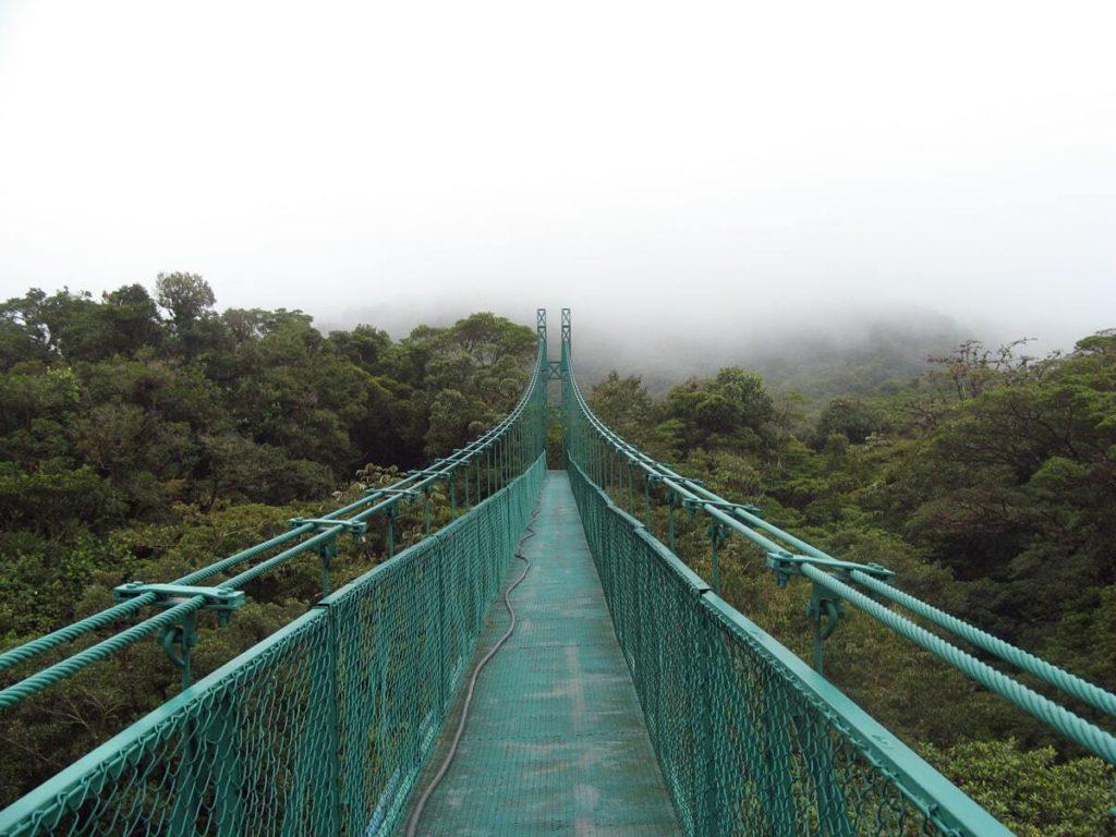 Pont parc Selvatura Monterverde Costa Rica que faire