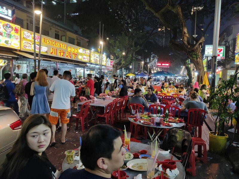 Le marché de nuit Jalan Alor à Kuala Lumpur recit voyage malaisie