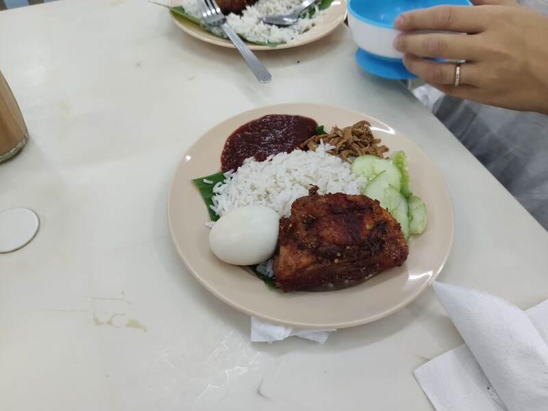 Nasi Lemak plat traditionnel recit voyage malaisie