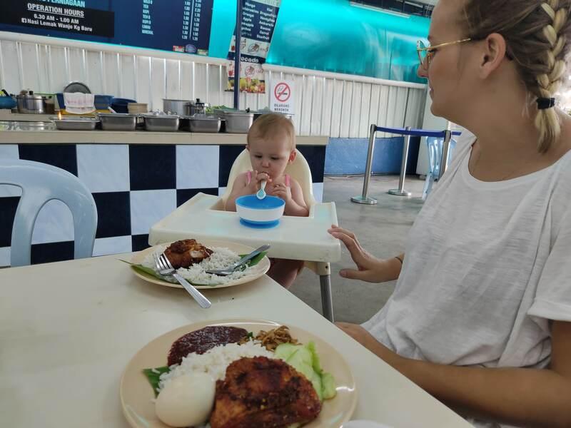 Restaurant Wanjo à Kuala Lumpur recit voyage malaisie