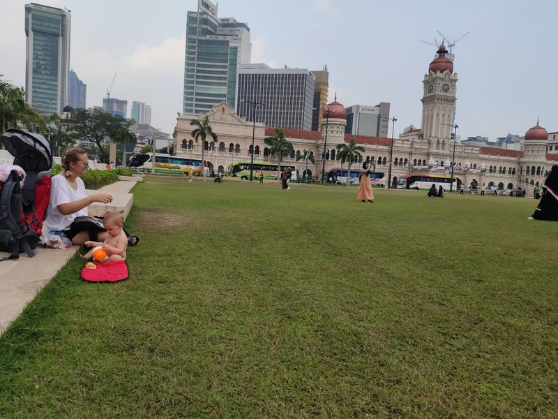 Place de l'indépendance Kuala Lumpur recit voyage malaisie