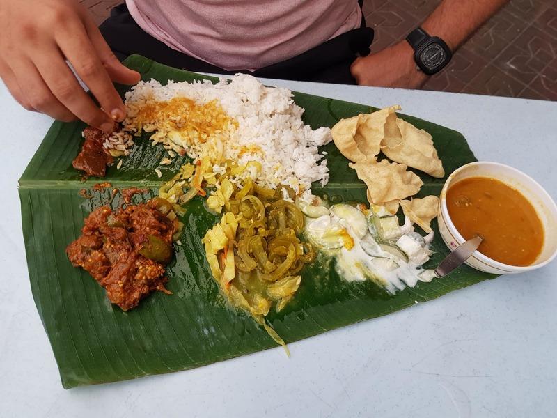 Banana Leaf repas indien à Kuala Lumpur recit voyage malaisie