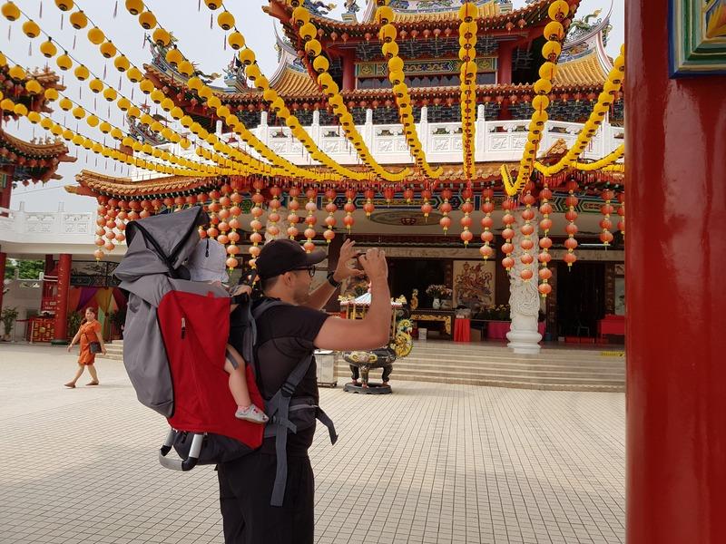 Intérieur du Temple Tean Hou à Kuala Lumpur recit voyage malaisie