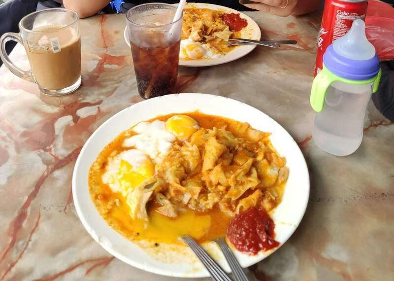 Manger un Roti Canai au Tea Stall à Kuala Lumpur recit voyage malaisie