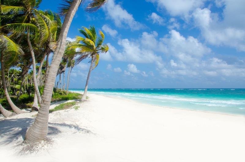 Sublime plage de Tulum à faire