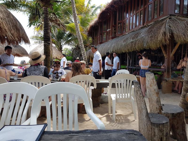 Restaurant sur sable à Tulum sympa à faire