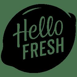 Hello Fresh logo within a lemon.
