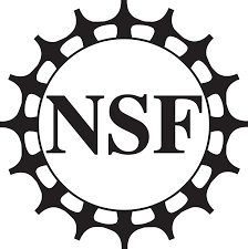 National Science Foundation logo. NSF inside a geared circle.