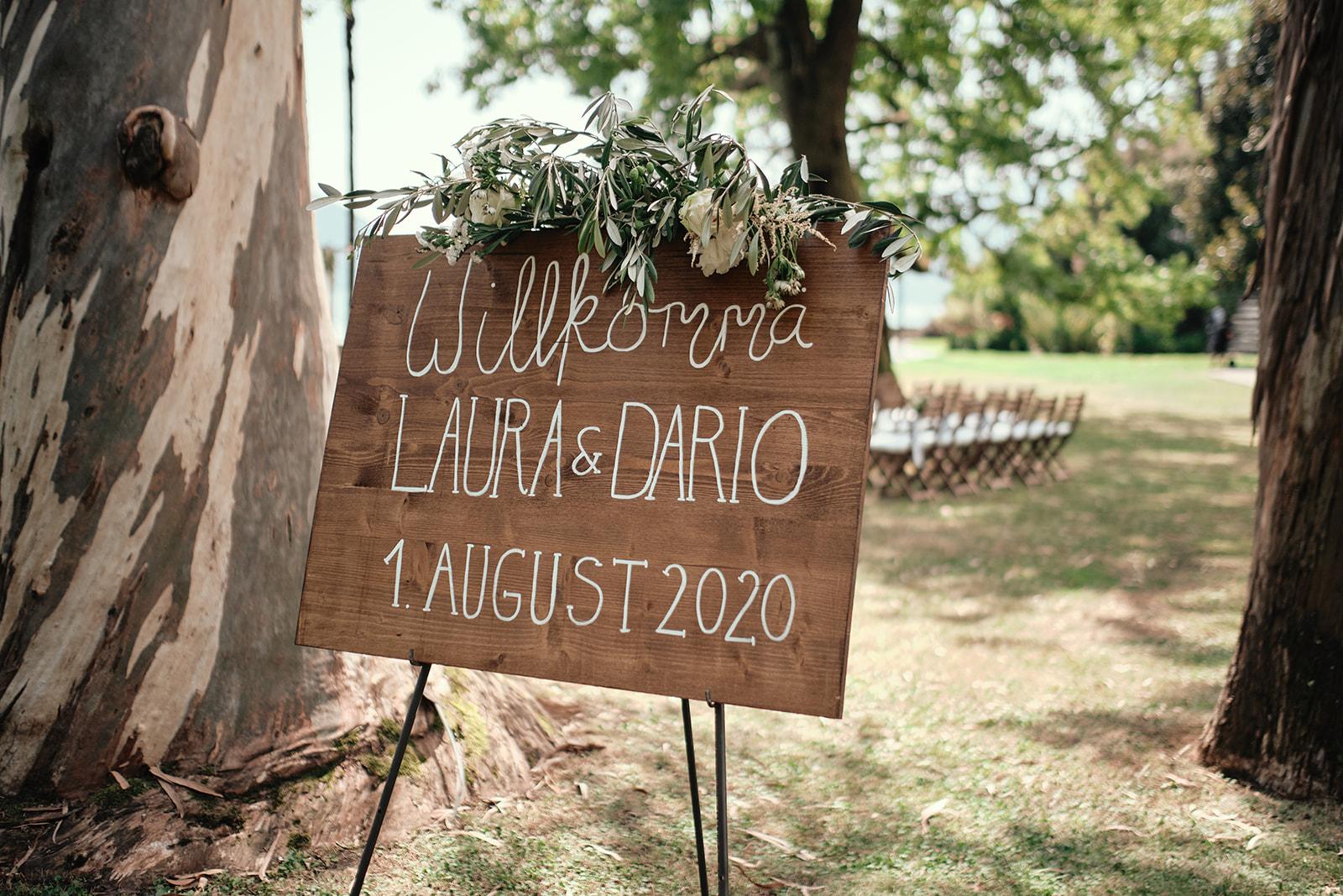 Hochzeit L&D