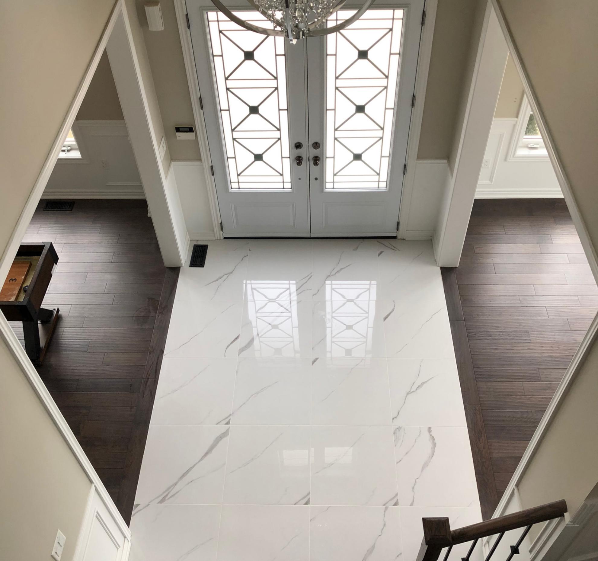 Shot of flooring and walls