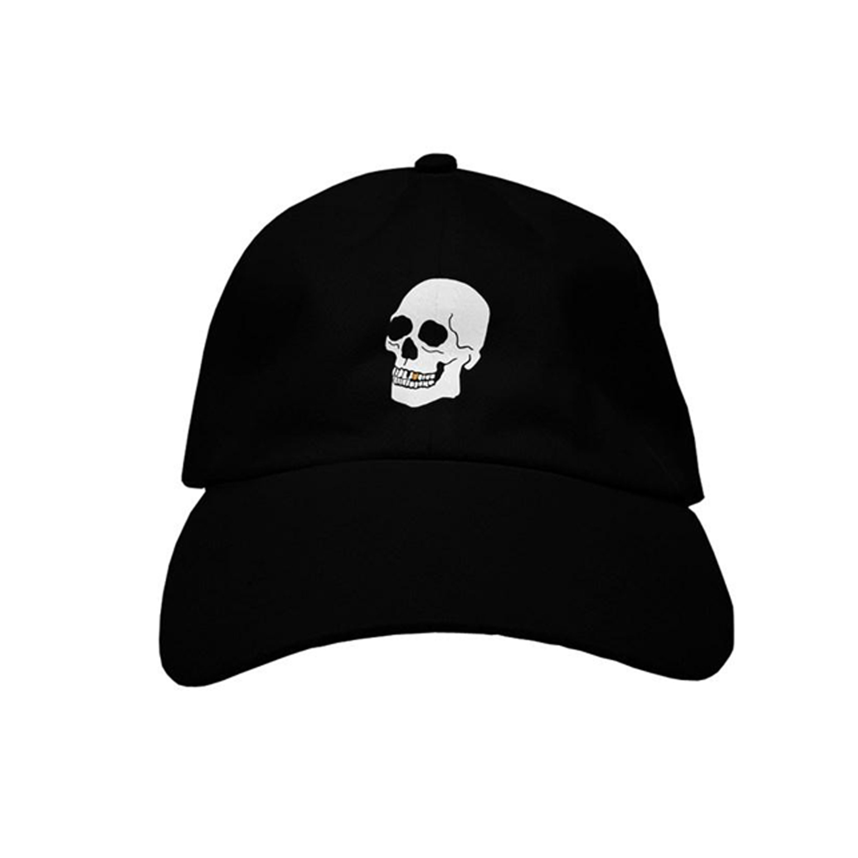 Skully embroidered dad hat