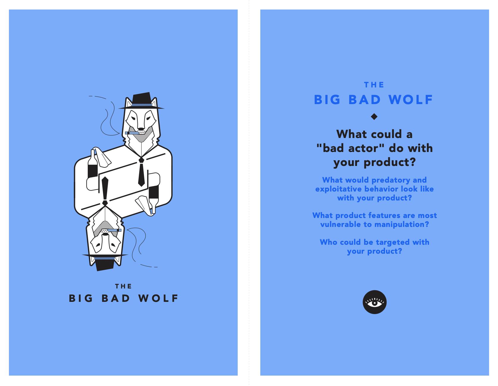 tarot cards of tech - The big bad wolf