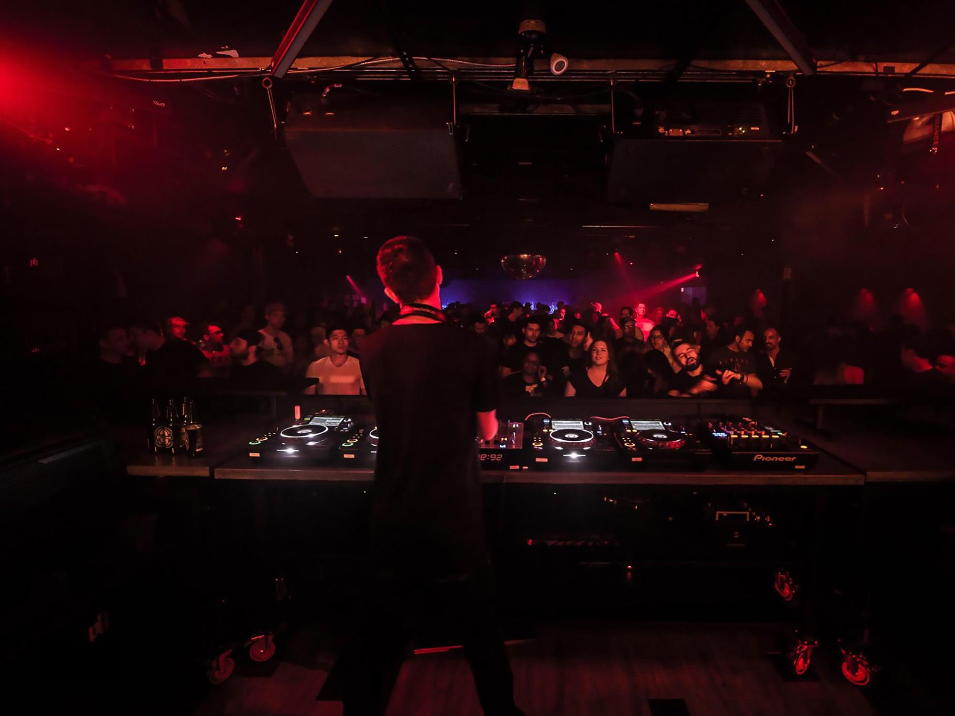 Terence Kissner DJ at Coda Toronto