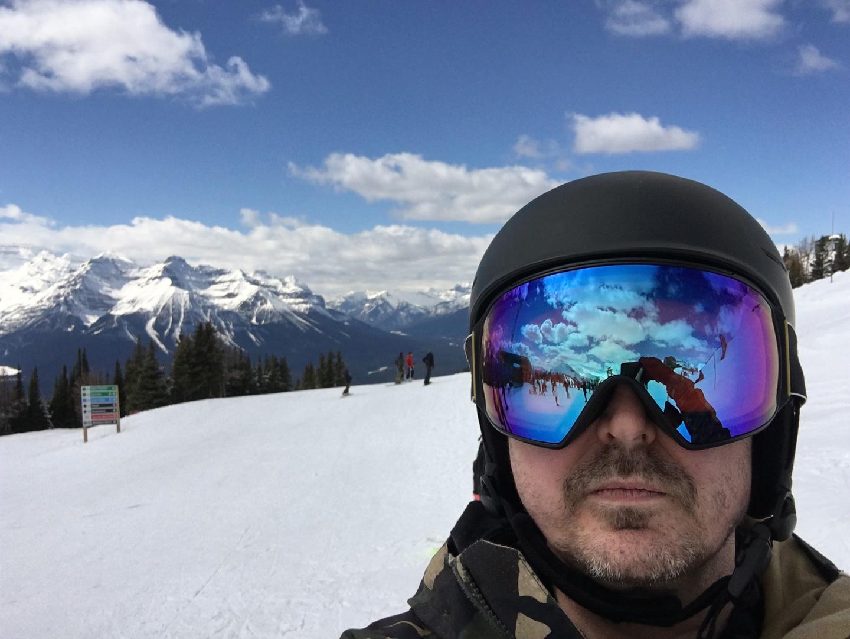 Terence Kissner Snowboarding Lake Louise, Alberta
