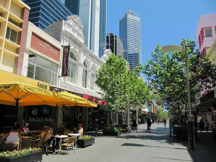 Image of the Perth CBD   Commercial tenant representative services article