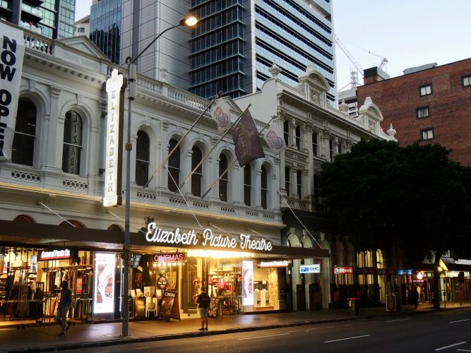 Image of shops on one of Brisbane's main streets | Brisbane spotlight article