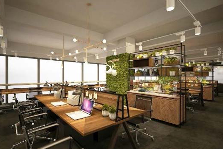 Image of the interior of a modern office | Singapore office types article