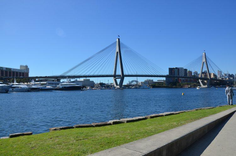 Image of the ANZAC Bridge on the fringe of Sydney CBD | Car parking article