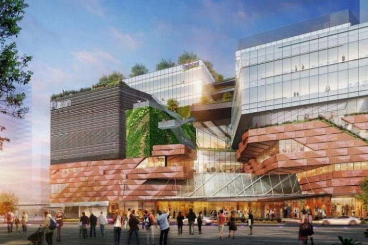 Image of the Funan office complex | Singapore's Upcoming Office Stock Article