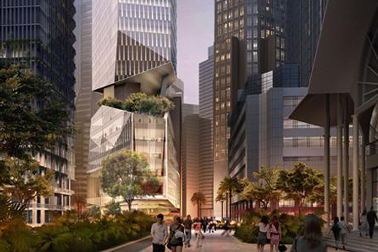 Image of the mixed development office at 28 Robinson | Singapore's Upcoming Office Stock Article