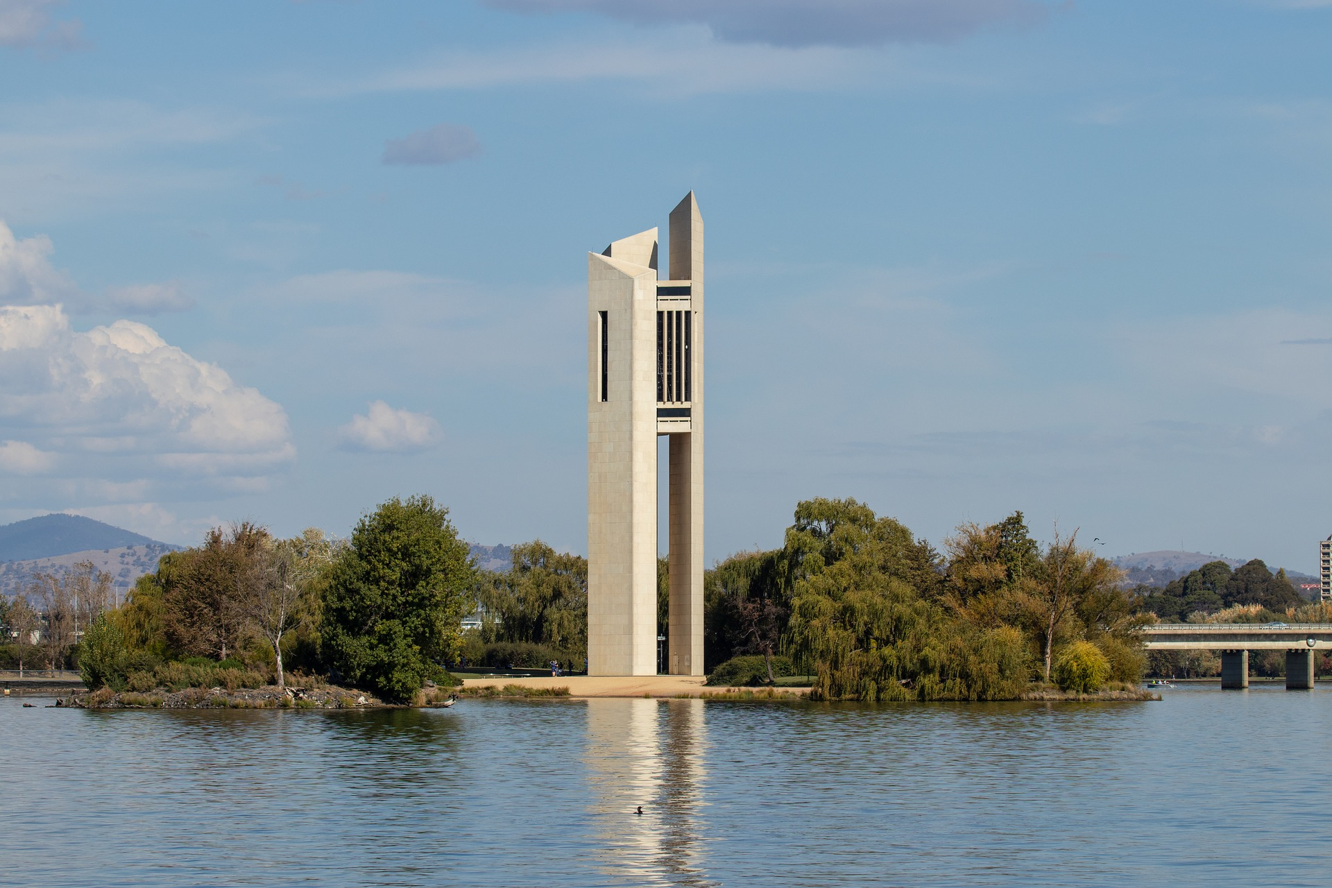 Image of a landmark in Canberra   Spotlight on Canberra article