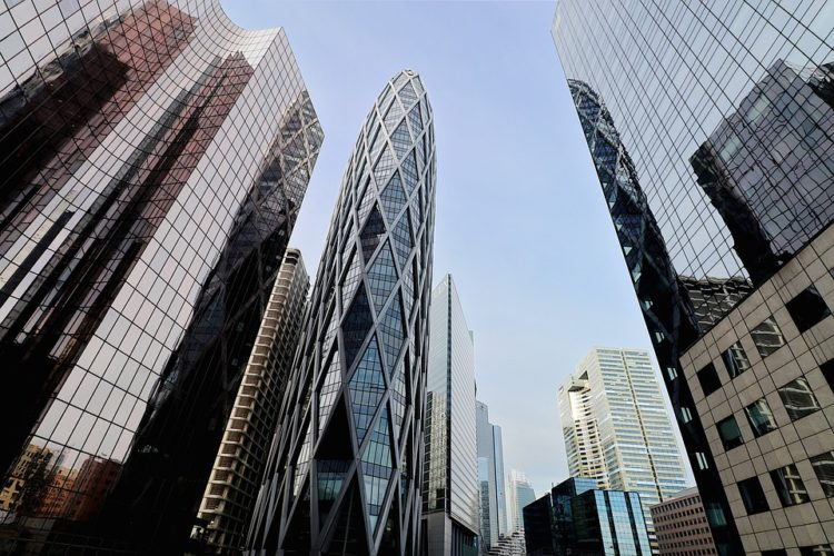 Office towers, land tax