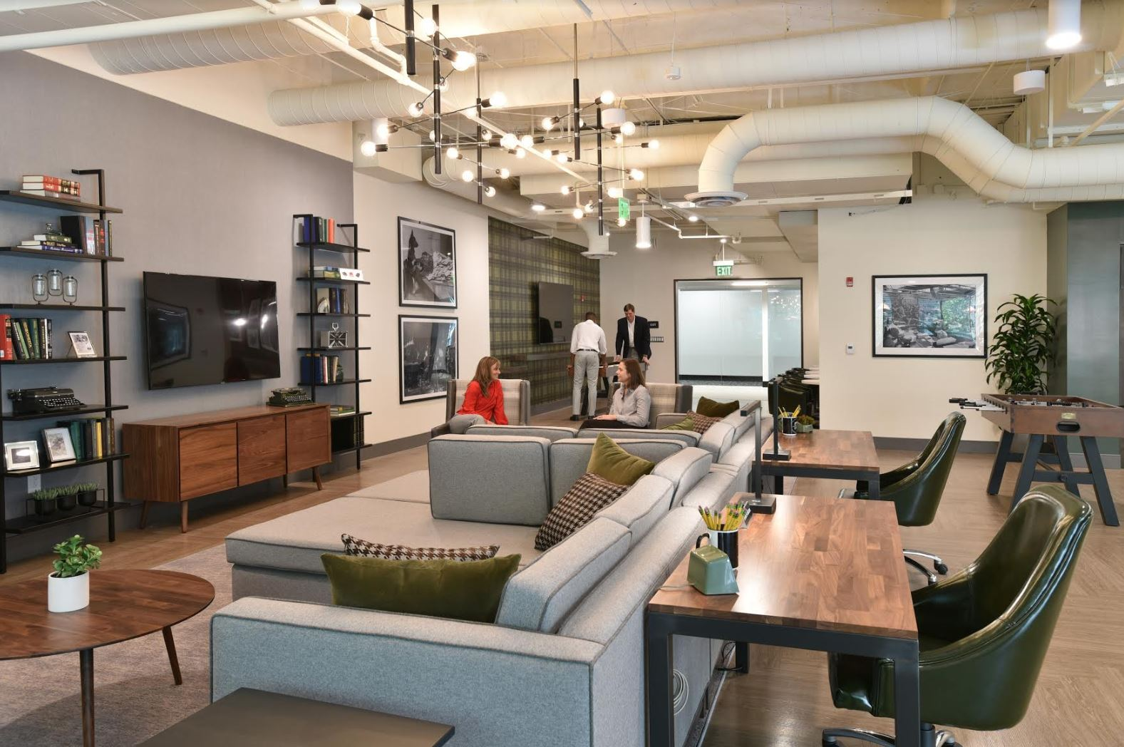 Office building design trend: Lounges