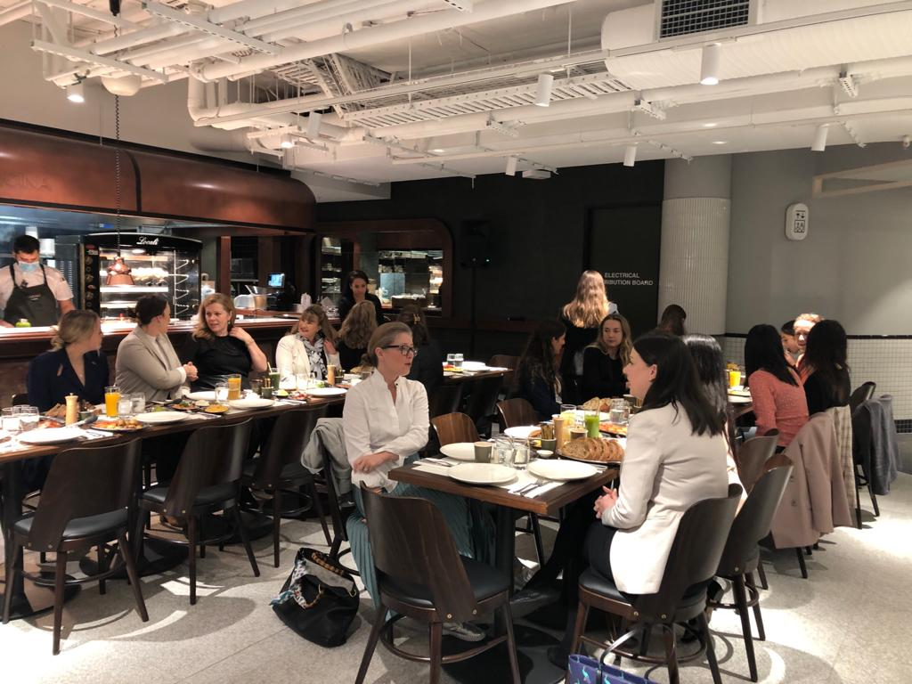 women in tenant representation networking event